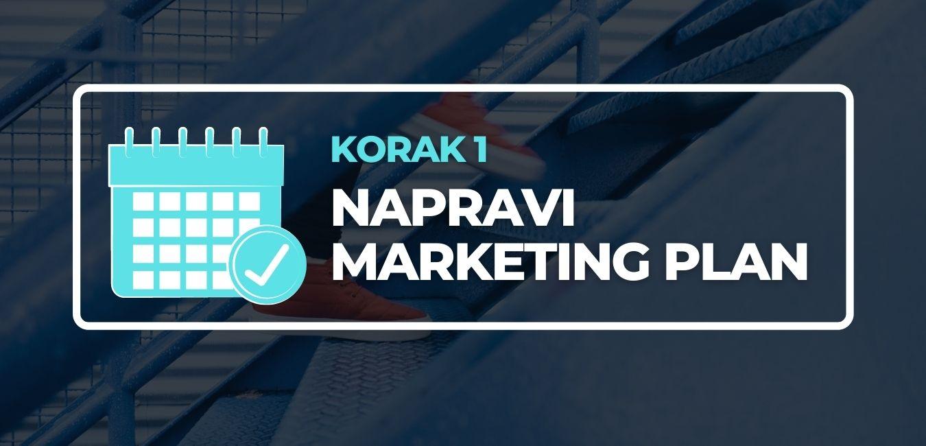 Napravi marketing plan