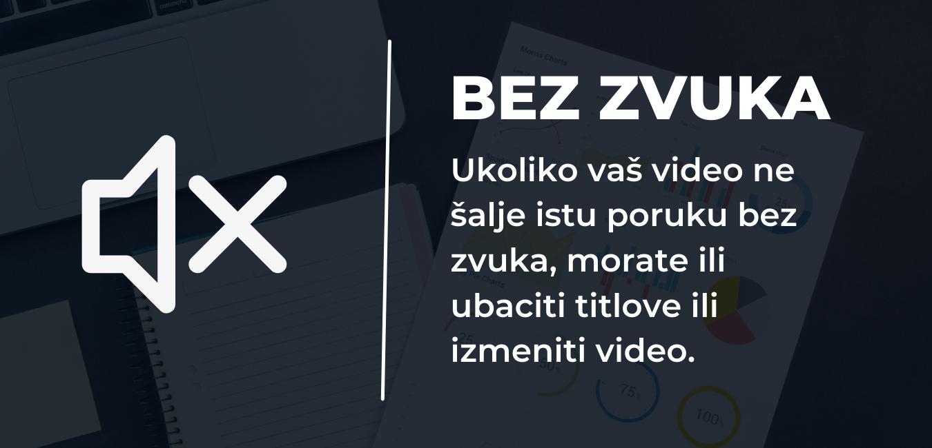 Facebook Video Reklame bez zvuka